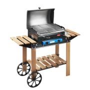 Barbecue Roccia Legno