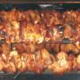 Particolare Girarrosto Brescia Inox 70cm a 6 lance