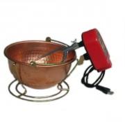 Mescolatore elettrico da 3 litri per la preparazione di risotti, polenta e creme.