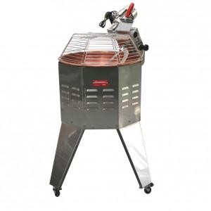 Mescolatore professionale elettrico con capacità di 30 kg con motore rinforzato per la preparazione di polenta.