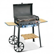 Barbecue Roccia Gas Lux con Grigliandola