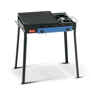 Barbecue Ghisa Gas Combinato