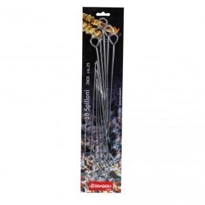 Conf. 10 spilloni inox 15 / 20 / 25 cm