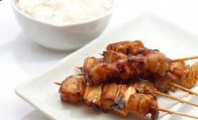 Ricetta etnica - Pollo yakitori