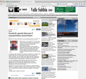 Valle Sabbia News 29Settembre2014