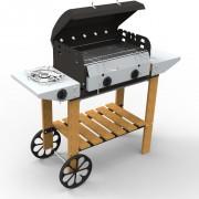 Barbecue Vulcano Legno