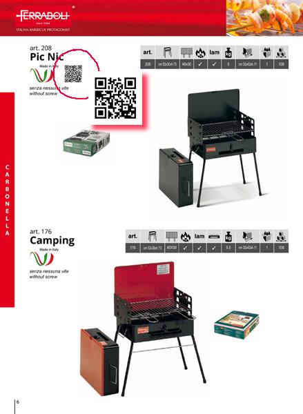 pagina interna Catalogo Ferraboli 2016 con QR Code